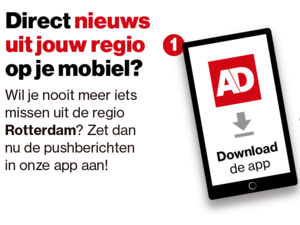 Als eerste op de hoogte van breaking news in regio Rotterdam? Zet je push aan!