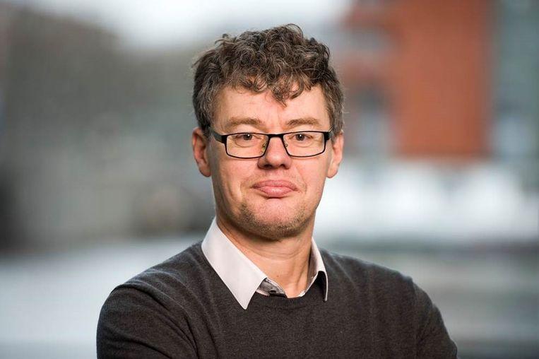 Leo Lucassen, directeur van het Internationale Instituut Sociale Geschiedenis. Beeld Martin van Welzen