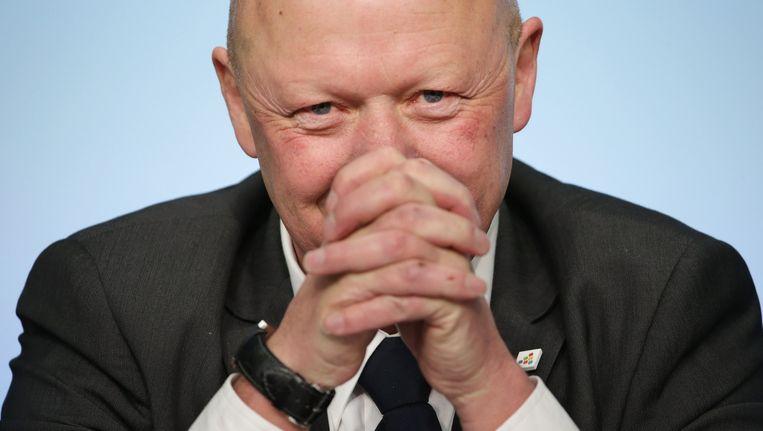 Hans Bonte, burgemeester van Vilvoorde (sp.a).