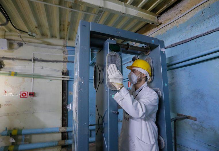 Na een bezoek aan de radioactieve controlekamer moeten bezoekers sowieso twee tests ondergaan om te controleren aan hoeveel straling ze precies werden blootgesteld.