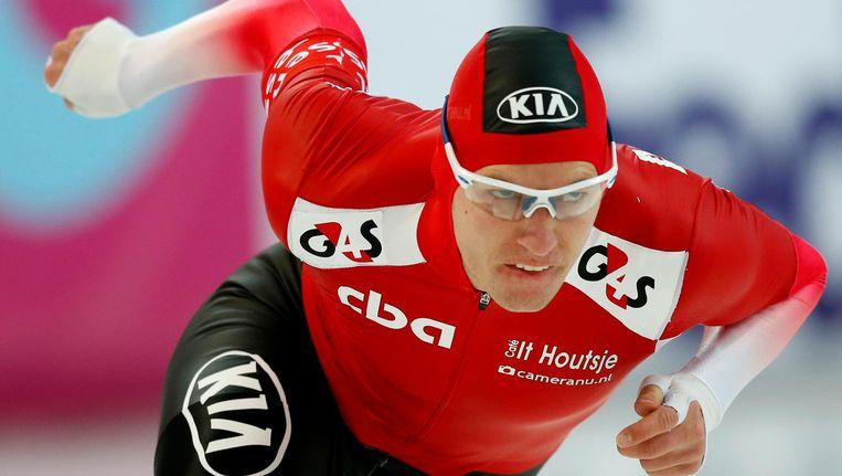 Dat er woensdag een wedstrijd werd verreden heeft Luleå te danken aan Bram Smallenbroek (29), hier afgebeeld. Beeld ANP