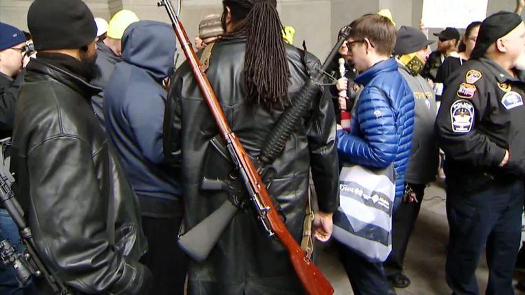 Protestactie in Pittsburgh, in Pennsylvania.