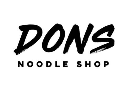 Don's Noodle Shop.