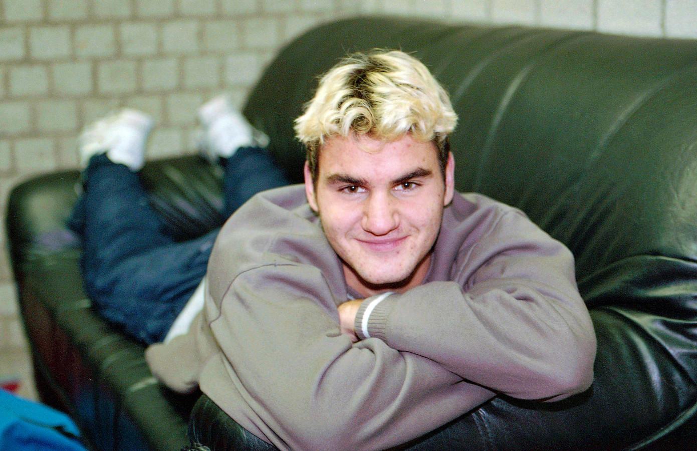 Roger Federer in 1999, rondom zijn deelname aan het ABN AMRO Tennis Tournament.