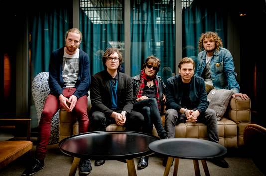 De Haagse band Di-rect in 2014.