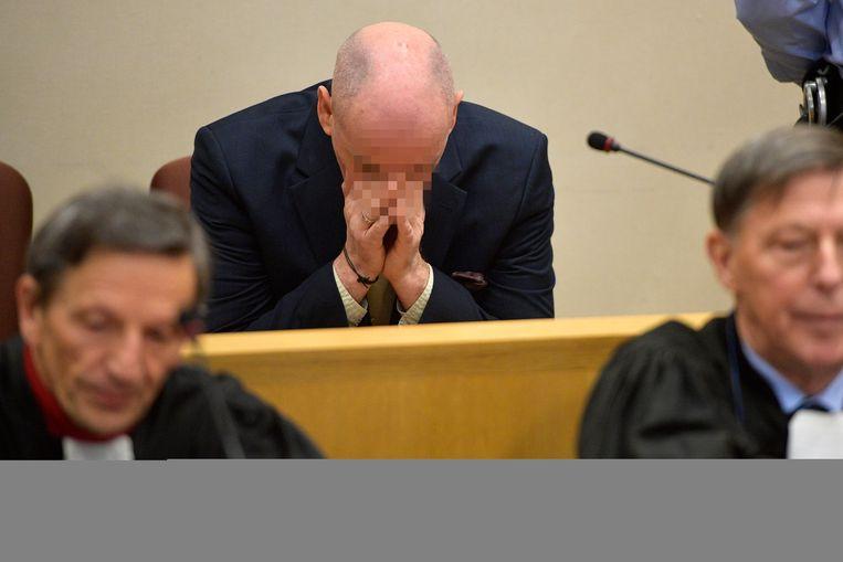 Beschuldigde Renaud Hardy (55).