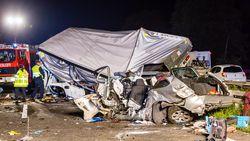 Trucker maakt rechtsomkeer op snelweg om file te mijden: drie doden en vier gewonden