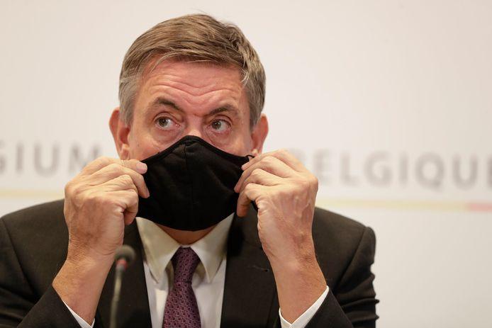 Vlaams minister van Cultuur Jan Jambon.