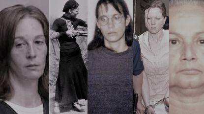 """Een moeder die het vlees van haar kinderen opat en vijf andere vrouwelijke criminelen die niet op de """"Most Wanted""""-lijst staan"""