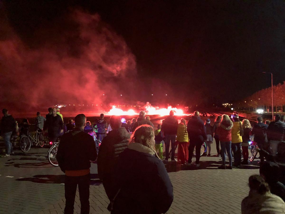 De geplande vuurwerkshow in Heinenoord kan op 24 oktober geen doorgang vinden