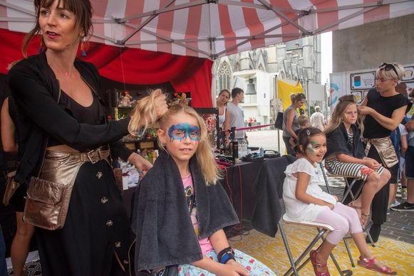 Vlaanderen feest in Gent met een gevarieerd programma voor kinderen.