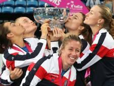La France remporte la troisième Fed Cup  de son histoire contre l'Australie