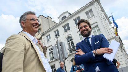 Brokken tussen Coens en Bouchez (even) gelijmd: uitstel van executie?