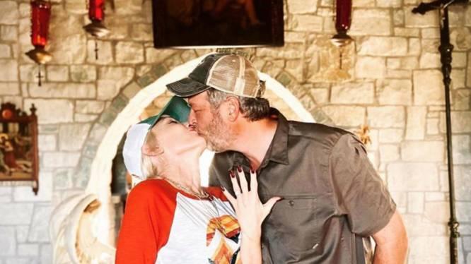 Gwen Stefani gaat trouwen met Blake Shelton