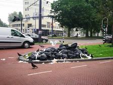 Smeerboel in de Arnhemse binnenstad