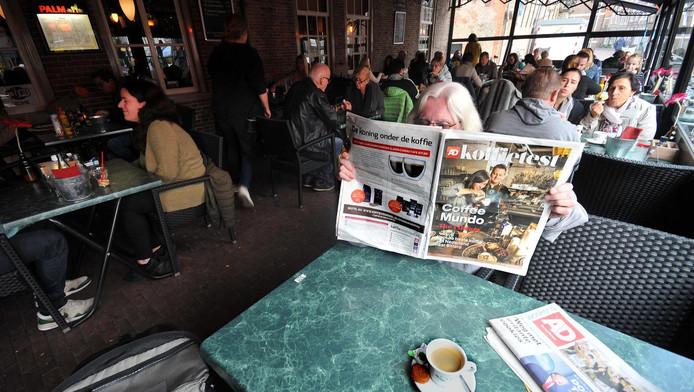 Het vernietigende oordeel in de AD Koffietest weerhield klanten van De Klander Muelen er dit weekeinde niet van daar gewoon koffie te bestellen.