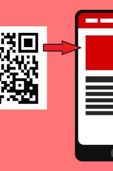 Een QR-code in de krant. Wat is het en hoe werkt het?