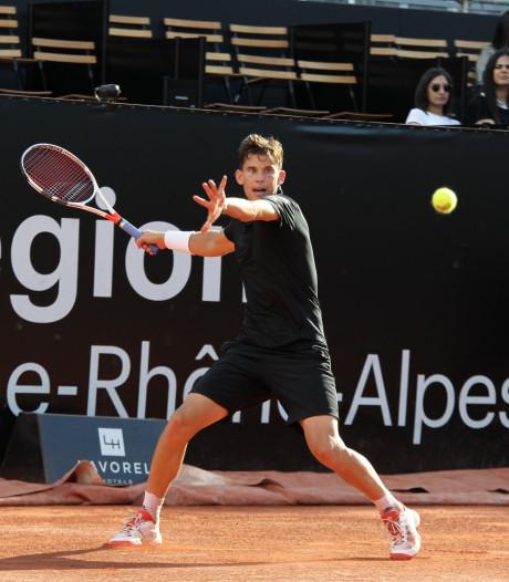 Thiem tegen Simon in finale Lyon