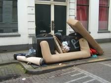 CU Nunspeet: 300 kilo grof afval gratis storten