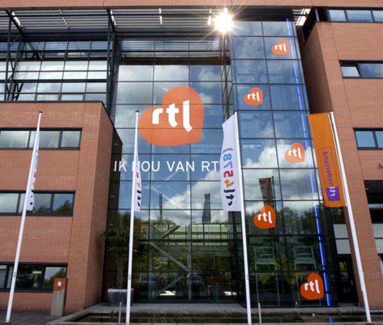 Het RTL-pand in Hilversum Beeld ANP