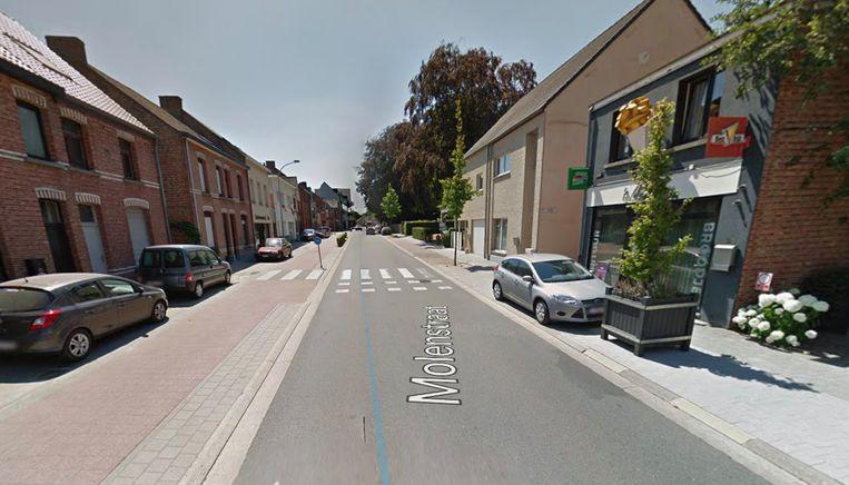 HEIST-OP-DEN-BERG - Het ongeval gebeurde ter hoogte van de oversteekplaats in de Molenstraat