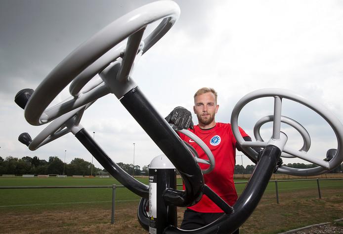 De Graafschap-doelman Hidde Jurjus. Foto: Theo Kock