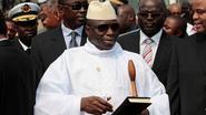 """President van Gambia geeft politie advies: """"Eerst schieten, dan ondervragen"""""""