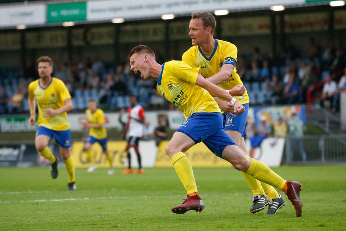 Mike Reuvers wil komend seizoen blijven scoren voor Staphorst.