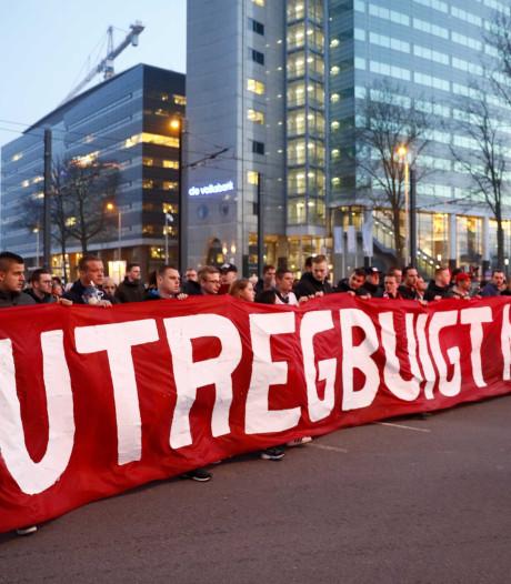 Utrechtse supportersverenigingen verwijten KNVB gebrek aan respect na aanslag in Utrecht