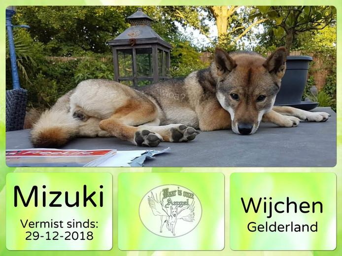 De vermissing van Mizuki is ook geplaatst op de Facebookpagina van Waar Is Onze Angel.