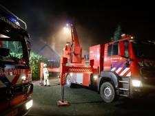 Brand in plafond van woning in Heijen door te heet geworden kachelpijp