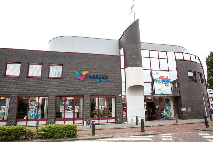 Het kantoor van - nu nog - de Pelikaan Travel Group aan Haveneind in Zevenbergen.