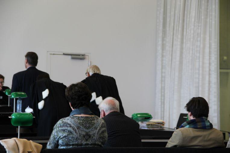Rudolf J. (links) heeft ook al eens zijn zoon (rechts) proberen ontvoeren.