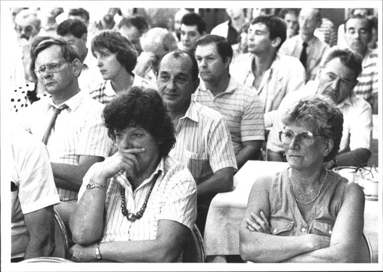 Werknemers bij een meeting in Amsterdam. Beeld Bert Verhoeff
