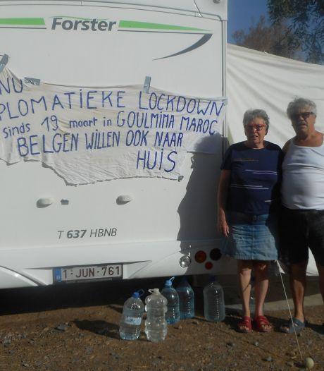 """Oplossing in de maak voor Antwerps koppel in Marokkaanse lockdown: """"Misschien deze week naar huis"""""""