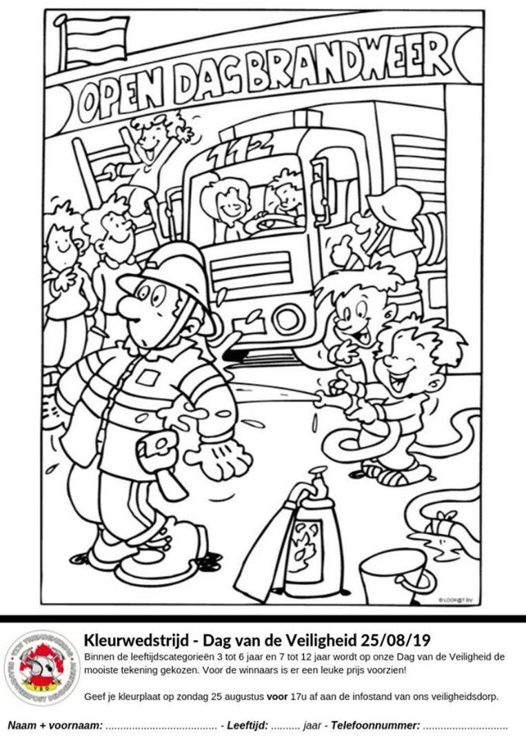 Brandweer Denderleeuw Organiseert Dag Van De Veiligheid