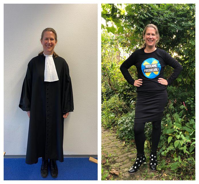Rosanne Rootert maakte de overstap van de rechtbank naar het goede doel.