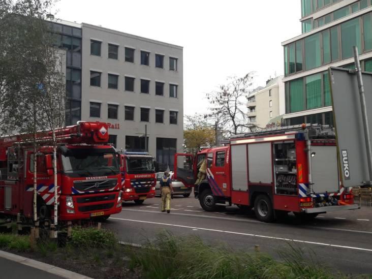 Keukenbrand in Groene Toren middenin het centrum van Eindhoven snel geblust