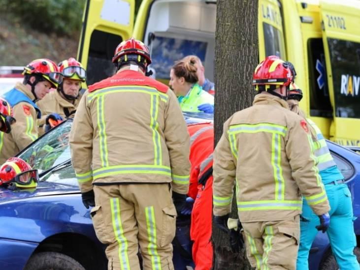 Ongeluk op Oirschotseweg in Best