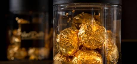 Deze exclusieve pepernoot uit Harderwijk is de 'duurste ooit' (en verpakt in eetbaar goud)
