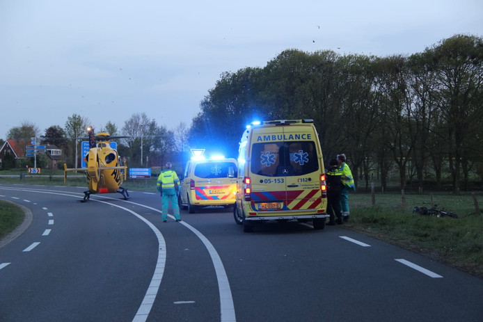 Het ongeluk gebeurde op de Rijssenseweg bij Holten.