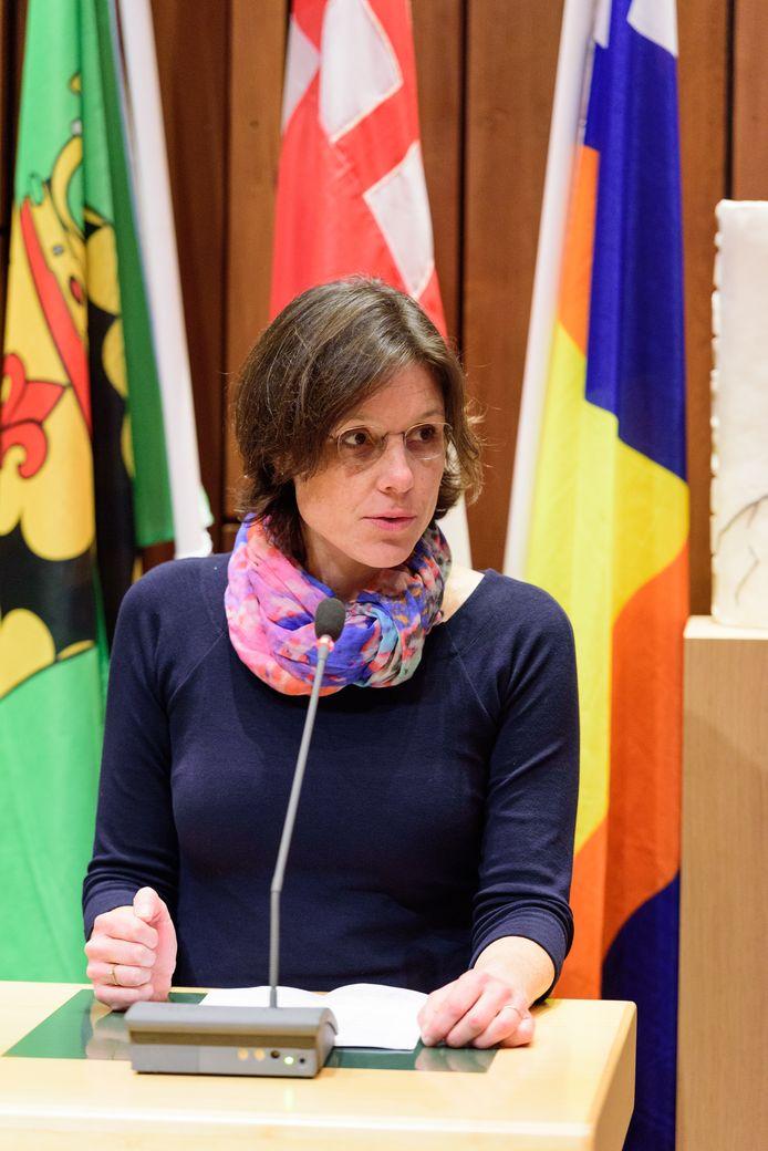 Wethouder Astrid Janssen (Groen Links).