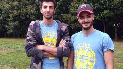 Palestijnse broers van Fedasil Broechem hielpen mee op Sfinksfestival