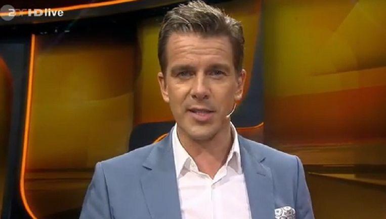 Presentator Markus Lanz kondigde gisterenavond het einde van 'Wetten, dass...?' aan. Beeld Youtube