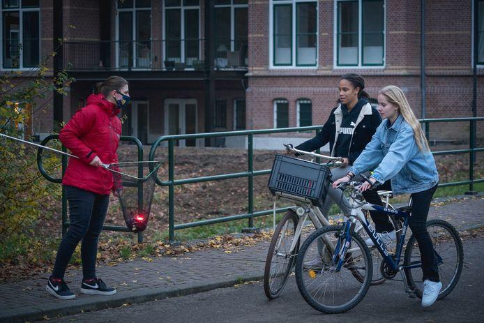 Gratis lampjes voor op de fiets.