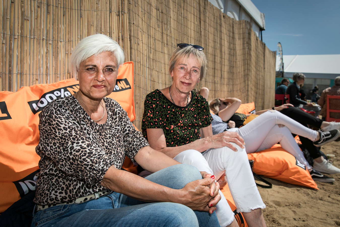 Eta Groot (56, links) en Ingrid Weijn.