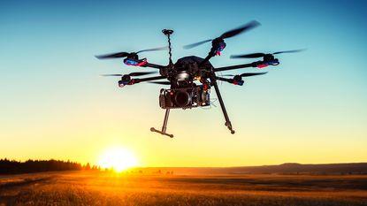 """""""Drones smokkelen films en informatie binnen in Noord-Korea"""""""