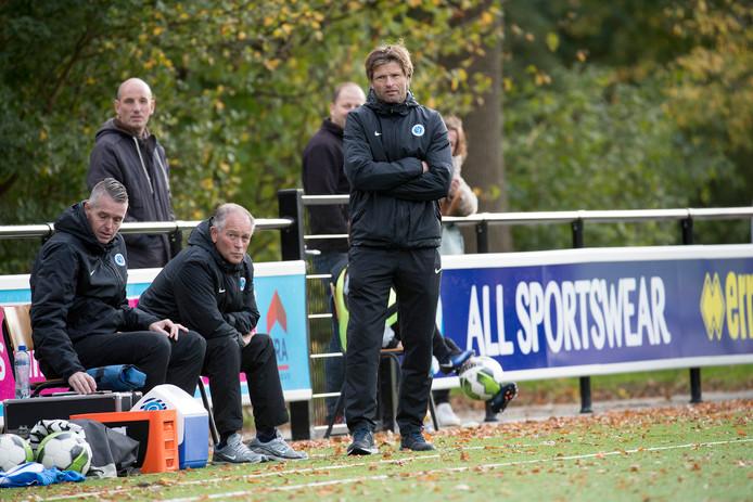 Trainer Jan Vreman zag Jong De Graafschap met 14-0 winnen.