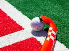 Winst in derby baat hockeyvrouwen Warande op slotdag niet