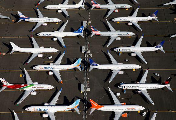 Boeings 737 Max in Seattle, Washington.